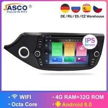 Android 7,1 8,0 DVD плеер автомобиля GPS навигационная система ГЛОНАСС мультимедиа для Kia Ceed 2013 2014 2015 Авто RDS Радио Аудио Видео Стерео
