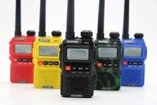 Baofeng UV-3R Plus Two 2 Way Radio Portable Dual band UHF VHF 99CH VOX FM Flashlight baofeng UV3R+ Radio Mini Walkie Talkie