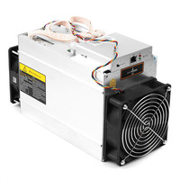 Newest 17 GH S 1200W AntMiner Bitcoin Mining Machine With 93 Efficiency Power Supply PC BTC