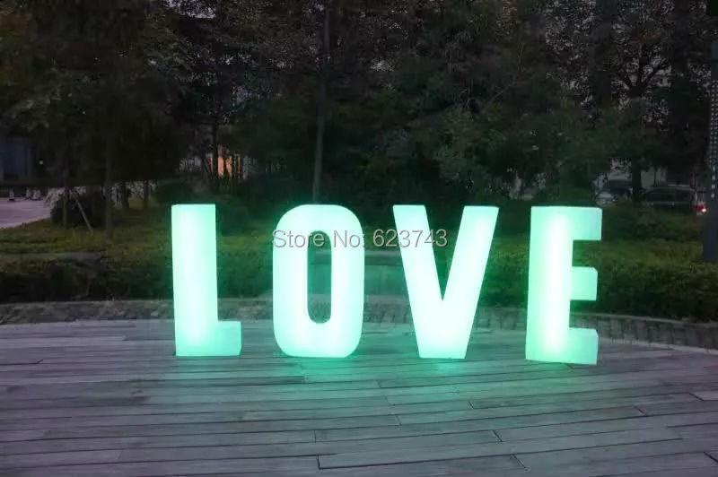 1 шт. цвета сменная аккумуляторная свет слова светящиеся буквы знак Светодиодные Торшер светящийся свет открытый/закрытый