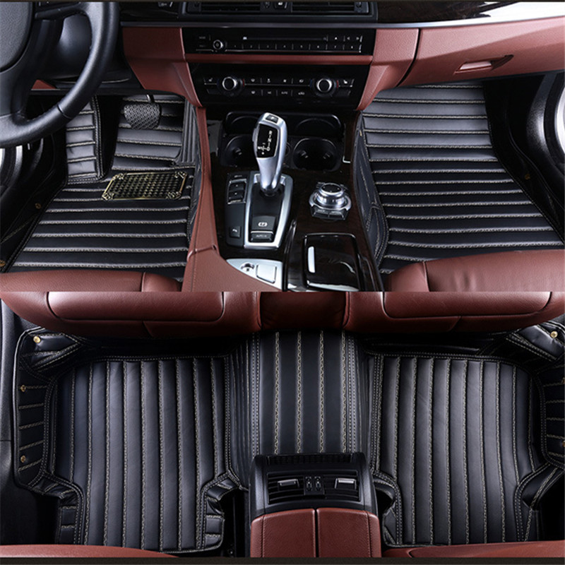 Custom car floor mats for Volkswagen All Models vw passat b5 6 polo golf tiguan jetta car styling floor mat