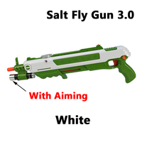 New 12 Types Bug Salt Fly Gun Salt and Pepper Bullets Blaster Airsoft for Bug Blow Gun Mosquito Model Toy Salt Gun Party Gifts