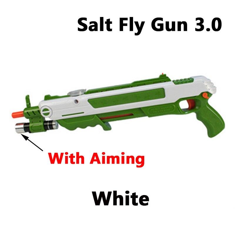 Nouveau 12 Types Bug sel mouche pistolet sel et poivre balles Blaster Airsoft pour Bug coup pistolet moustique modèle jouet sel pistolet cadeaux de fête