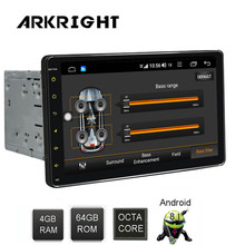 9 2din Android Car Radio 4+64gb Multimedia Player GPS/autoradio/audio stereo Hotspot sharing with DSP support 4G SIM card
