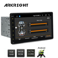 9 2din Android Car Radio 4+64gb Car Multimedia Player GPS/autoradio/audio stereo Hotspot sharing with DSP support 4G SIM card