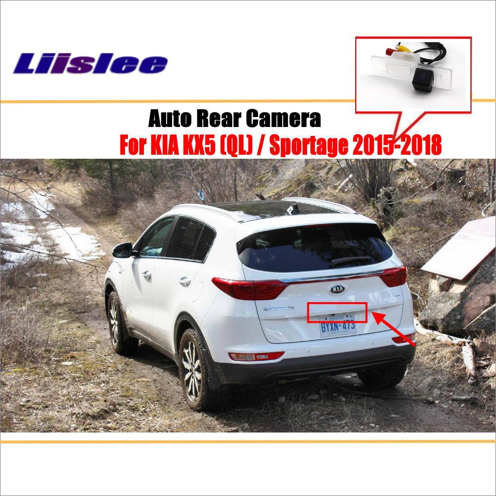 Reverse Rear View Camera For KIA KX5 (QL) / Sportage 2015~2018 / Parking Back Up Camera / HD CCD Night Visioin