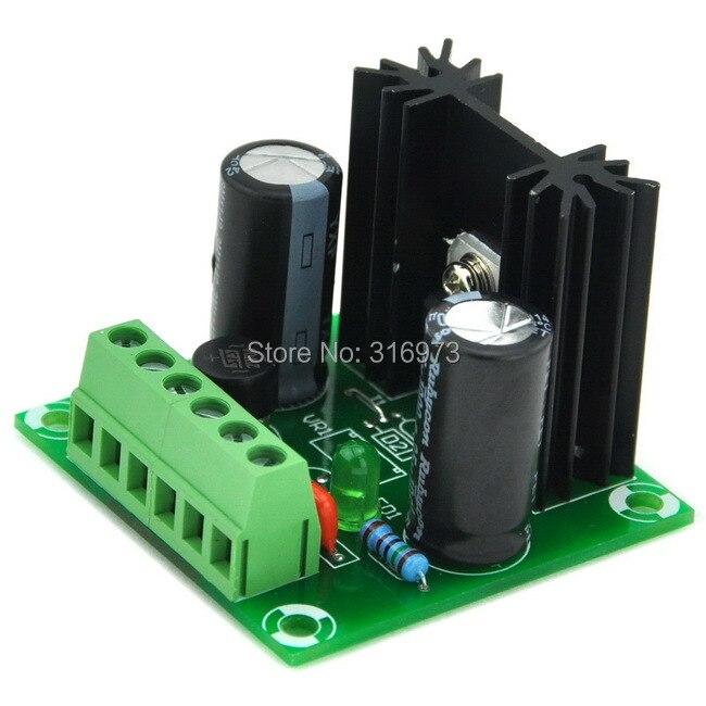 24V DC Positive Voltage Regulator Module Board, Based On 7824