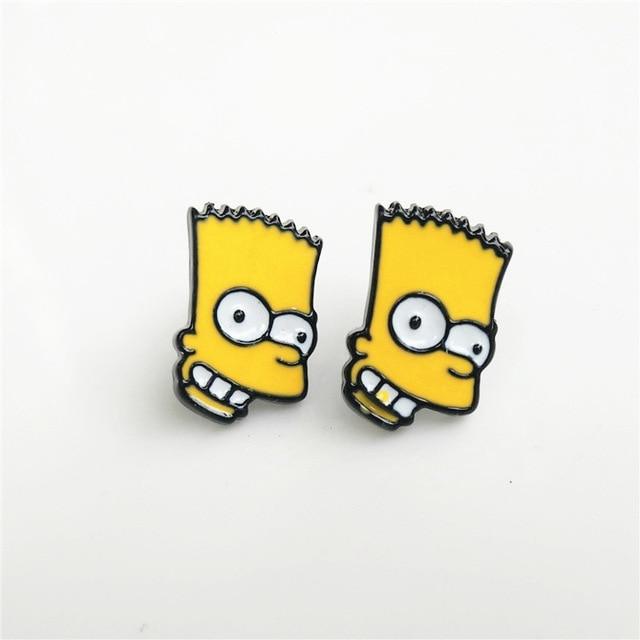 Сережки Симпсоны в ассортименте 4