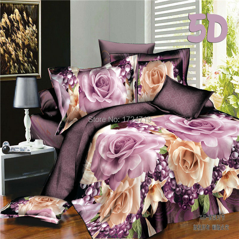 3d Bedding Set Bedclothes Bed Set Duvet Cover Flat Sheet Home Textiles Pillowcase Queen Size Flower Horse Marilyn Monroe