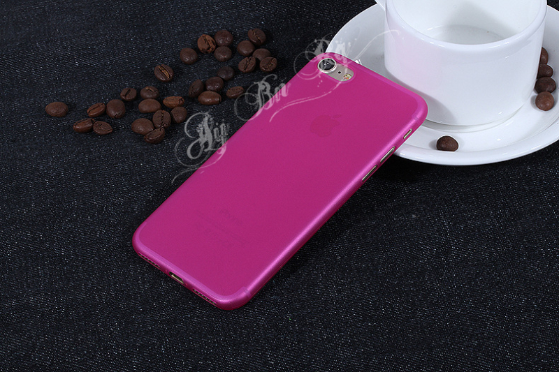 HTB1rOLNQXXXXXbCXFXXq6xXFXXXt - FREE SHIPPING Ultrathin Hard frosted Case for iphone X 7 6S 6 8 Plus Slim Matte PP Cover Clear Black Grey Purple Rose Red Green Blue JKP386