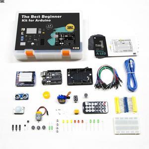 Image 1 - KUONGSHUN UNO R3 ערכת המתחילים Arduino UNO R3 פרויקטים עם אריזת מתנה ומדריך למשתמש