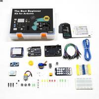 Kuongshun uno r3 스타터 키트 arduino uno r3 프로젝트 선물 상자 및 사용자 설명서