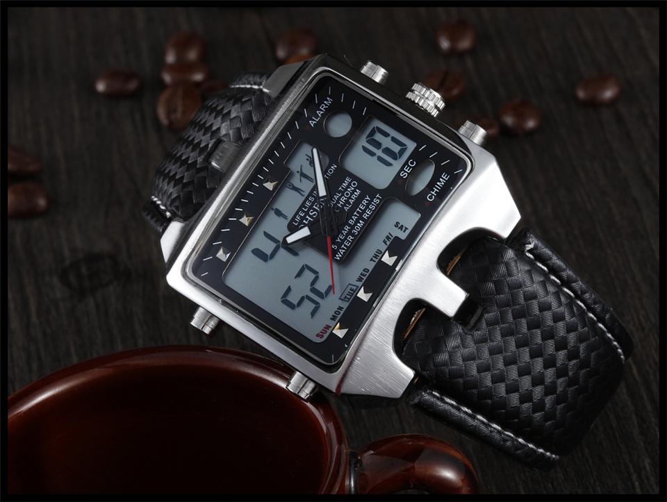 Hot Fashion OHSEN Brand Men Sports Watches Analog Casual Quartz 3ATM Waterproof Sport Military Watch Men Relogio Male Clock Gift (20)
