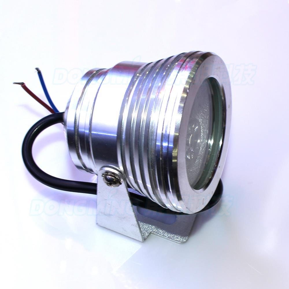 zilver cover onderwater led rgb dc 12 v 3 w verwisselbare kleur onderwater led lamp platte lens onderwater zwembad verlichting