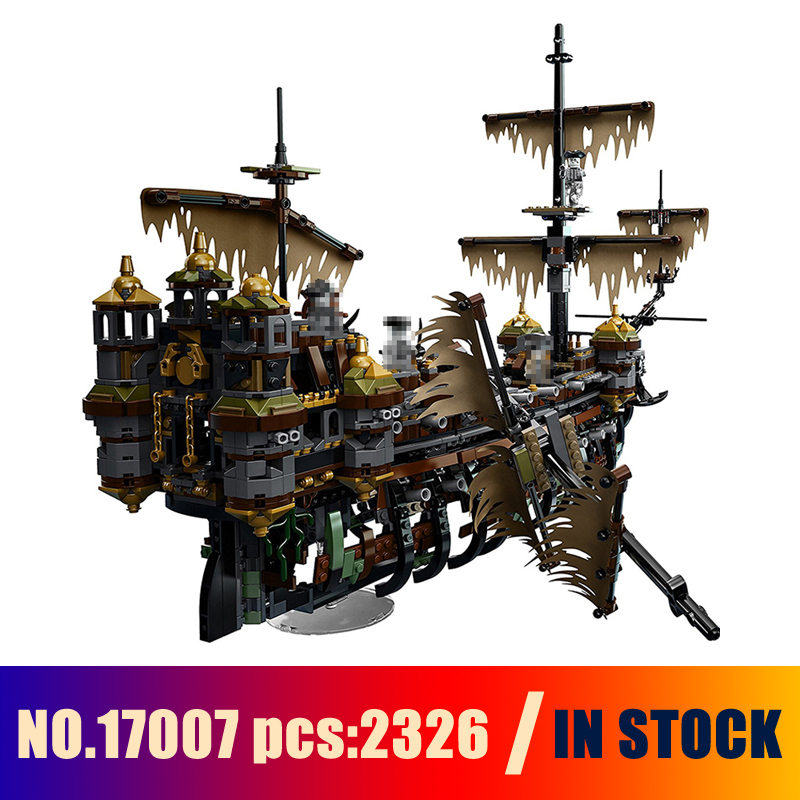 Models Building Toy The Slient Mary Set 2344pcs 16042 Building Blocks Compatible Lego pirates caribbean 71042 Toys & Hobbies stark gravity 2016