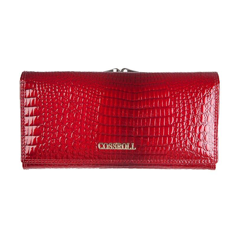 marca para mulheres carteiras e Composição : Leather