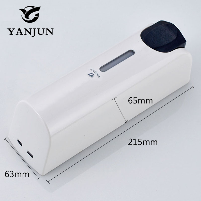 Yanjun 350ml Single Liquid Soap Dispenser Wall Mount Lavatory Bath Shower Accessories White YJ 2532 Yanjun 350ml Single  Liquid Soap Dispenser  Wall Mount Lavatory Bath Shower Accessories White  YJ-2532