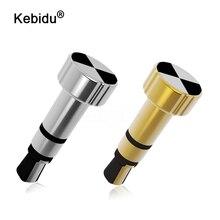 Kebidu 1 pièces IR télécommande commutateur accessoires de téléphone intelligent 3.5mm prise de poussière pour IPhone pour IOS