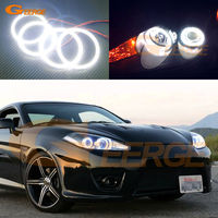 For Hyundai Tiburon 2007 2008 GK FL2 Excellent Led Angel Eyes Ultrabright Illumination Smd Led Angel