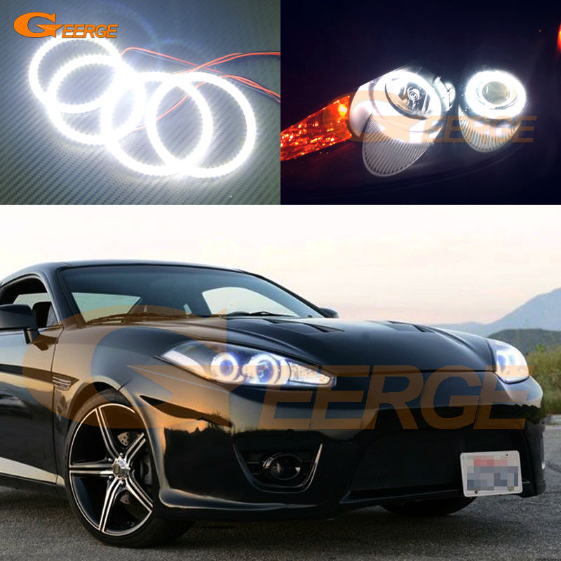 For Hyundai Tiburon 2007 2008 GK FL2 Excellent angel eyes Ultra bright illumination smd led Angel Eyes Halo Ring kit фитиль zippo в блистере 1196929 page 7 page 6 page 8 page 6
