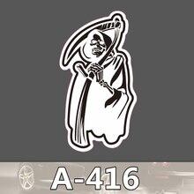 A-416 Geist Wasserdicht Mode Kühle DIY Aufkleber Für Laptop Gepäck Skateboard Kühlschrank Auto Graffiti Cartoon Aufkleber