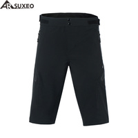 ARSUXEO 2017 Mens Outdoor Sports Cycling Shorts Downhill MTB Shorts Mountain Bike Shorts Breathable Water Resistant