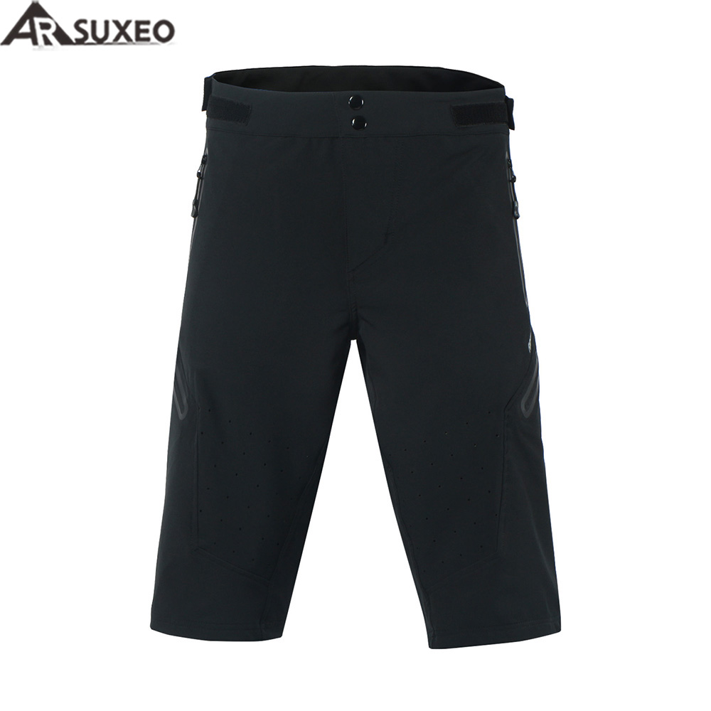 ARSUXEO 2017 Mens Outdoor Sports Cycling Shorts Downhill MTB Shorts Mountain Bike Shorts Breathable Water Resistant 1703A