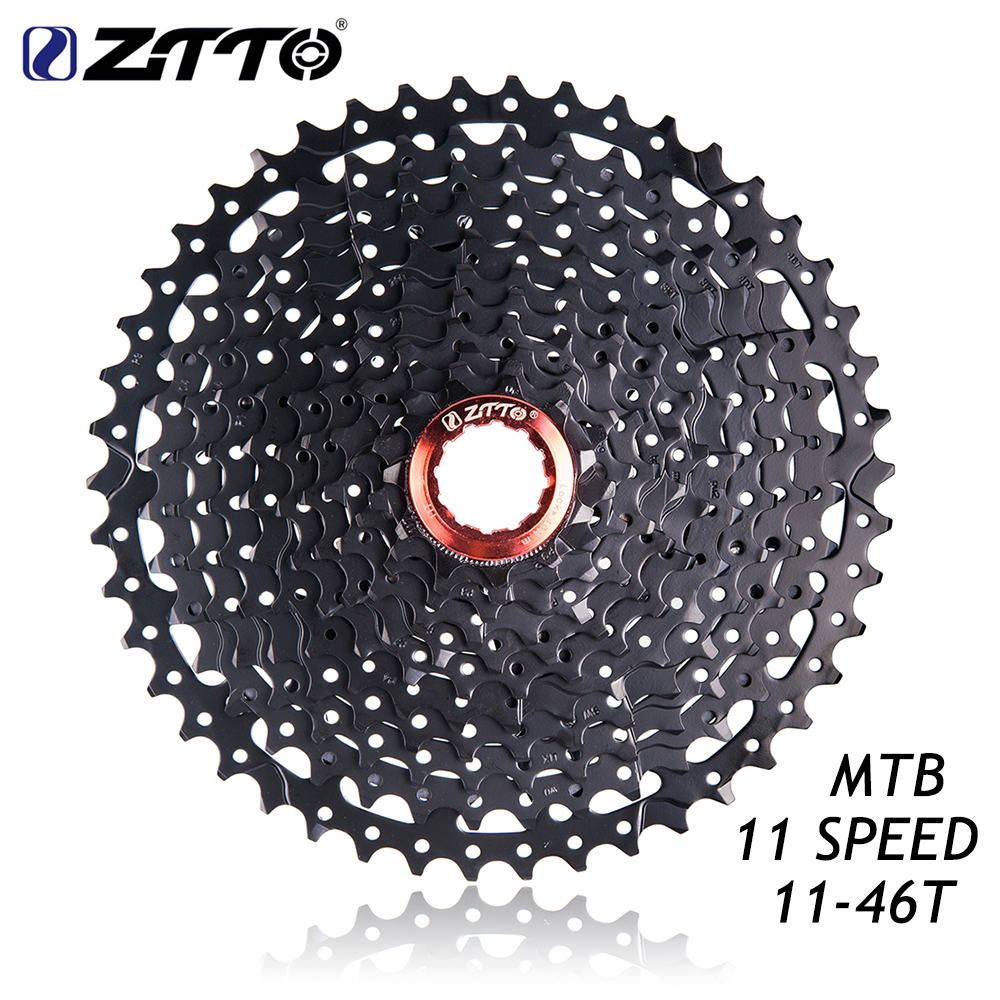 ZTTO 11 46T 11Speed MTB Mountain Bike Bicycle Part 11s 22s Freewheel Cassette for Parts K7