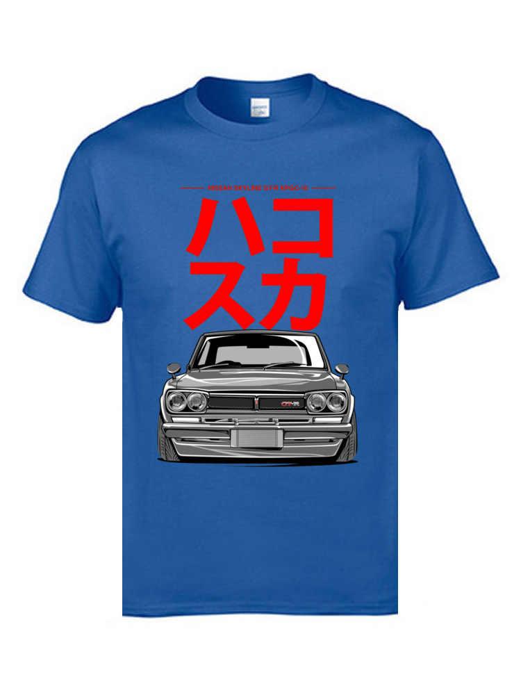 JDM; японский автомобиль футболка скорость авто автомобиль классические футболки отец тройник 100% хлопок 3D принт Мужская одежда для отдыха Ostern Day
