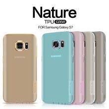 Nillkin Природа Прозрачный Мягкий Чехол Тпу Для Samsung Galaxy S7 G930 G930F G930FD 5.1 «дюймовый Ясно Задняя Крышка Тонкий силиконовые Чехлы