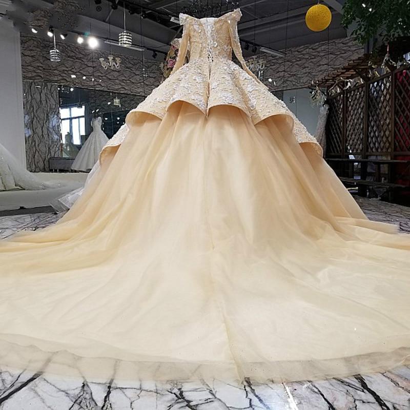 High-end personalizate de lux de nunta de tren de valuri Rochii de - Rochii de mireasa - Fotografie 2
