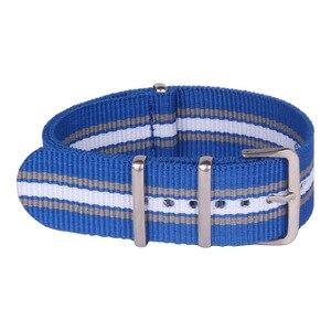Ремешки для часов, многоцветные, синие, 22 мм, тканевые, нейлоновые ремешки для часов
