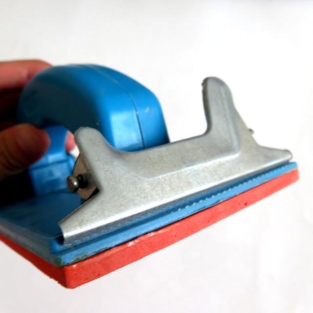 Handheld Sandpaper Frame Hand Grip Sandpaper Holder for Abrasive Tools PAK55
