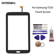 T210 Touch Screen Digitizer Sensor Front Glass Panel For Samsung Galaxy Tab 3 7.0 SM-T210 Replacement Parts With Tool