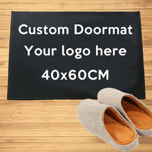 Custom Doormat Entrance Welcome Mats Hallway Doorway Bathroom Kitchen Rugs Floor Mats Carpet All Color All Logo free shipping cheap CN(Origin) Wrinkle-Resistant Anti-Slip other Finished Carpet (piece) Solid Printed American Style Machine Made Outdoor Suede