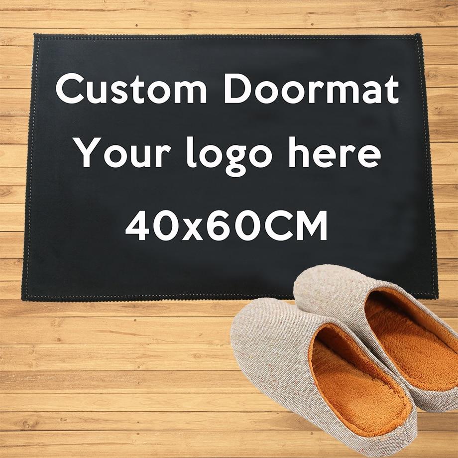 Personalizado entrada capacho tapetes de boas-vindas corredor porta banheiro cozinha tapetes tapete toda a cor todo o logotipo, frete grátis