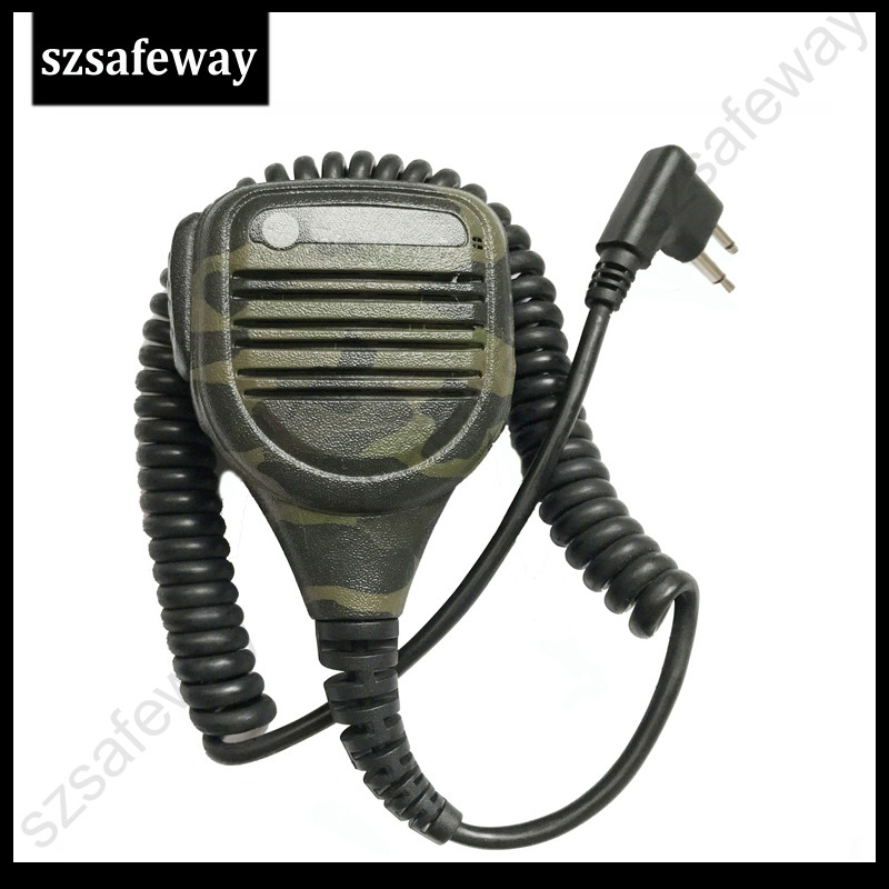 5X Two Way Radio PPT Camouflage Remote Speaker Microphone For Motorola CP160 EP450 GP300 GP68 GP88 CP88 CP040 CP100 CP200 CP140