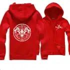 Hoodies mannen Fate Nul hoodie Sabel Kleding Lange Mouwen Cosplay Coat Hoodies Wit/Grijs/Zwart Sweatshirts