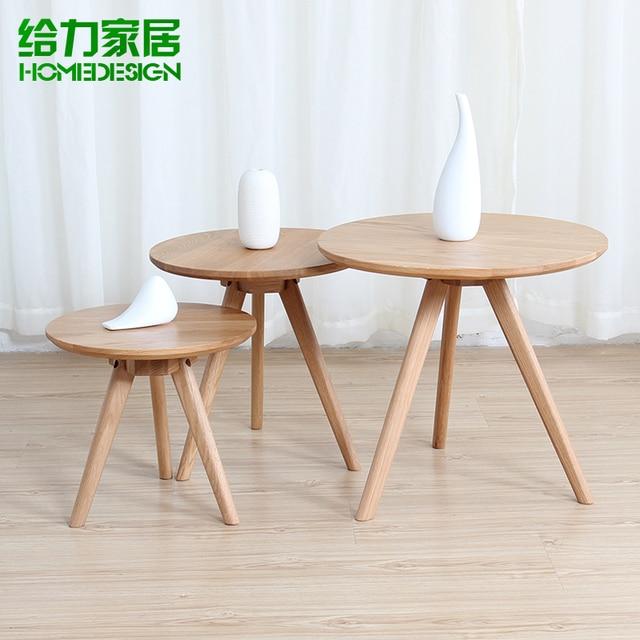 small round table solid wood coffee table ikea minimalist. Black Bedroom Furniture Sets. Home Design Ideas