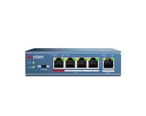 Image 5 - Hikvison interruptor PoE de 4 puertos, 8 puertos, 16 puertos, 24 puertos, DS 3E0105P E, DS 3E0109P E, DS 3E0318P E, distancia de transmisión de 250m