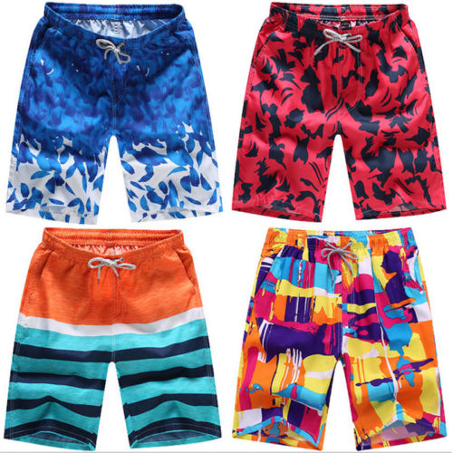 2018 Men Summer Colorful Beach   Board     Shorts   Print Casual   Shorts   New