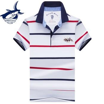 5ddf41c0ae8 Camiseta Polo bordada para hombre, ajustada, de manga corta, marca Tace  Shark, moda de verano, logotipo de tiburón, camisetas Polo para hombre