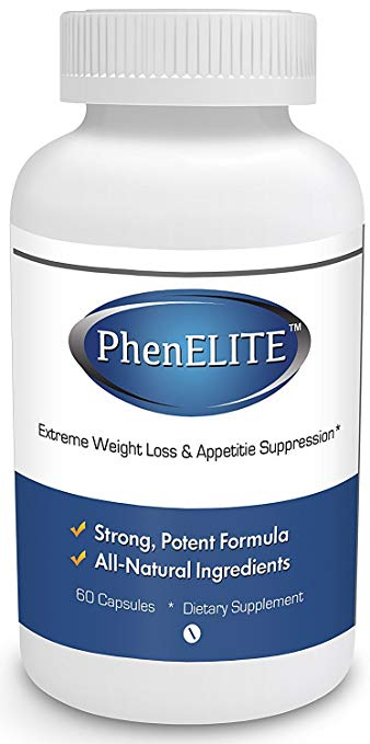 PhenELITE Weight Loss & Appetite Suppression 60 Pcs Free Shipping