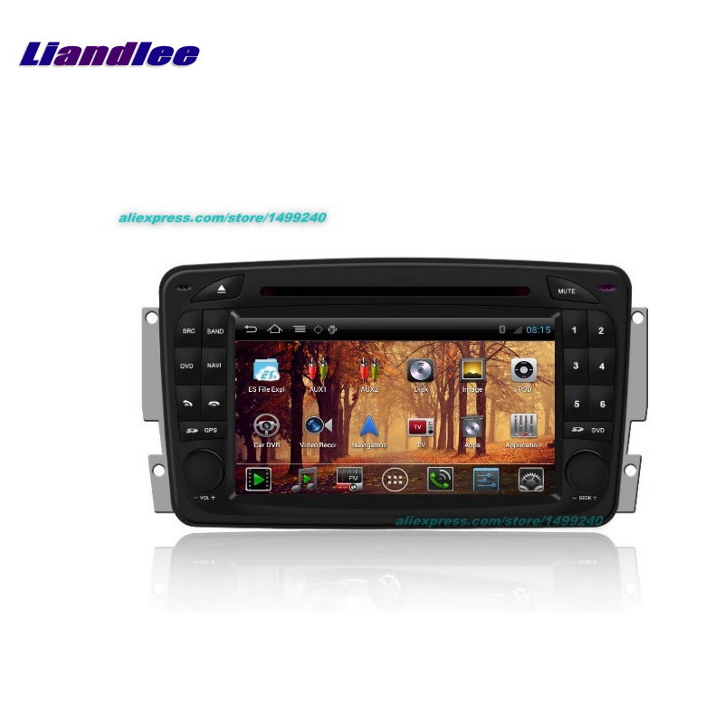 Liandlee For Mercedes Benz E W210 1995~2003 Car GPS Android Radio Navi  Navigation Maps original style GPS player OBD2 Camera TV