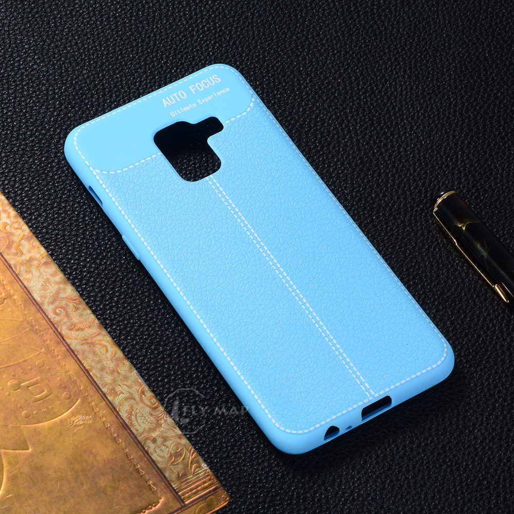 outlet store a81e0 53644 Soft Case for Samsung Galaxy A8 2018 8A TPU Silicone Phone Cover A 8 2018  GSM-A530F SM-A530F/DS SM A530 A530F A530F/DS Coque Bag