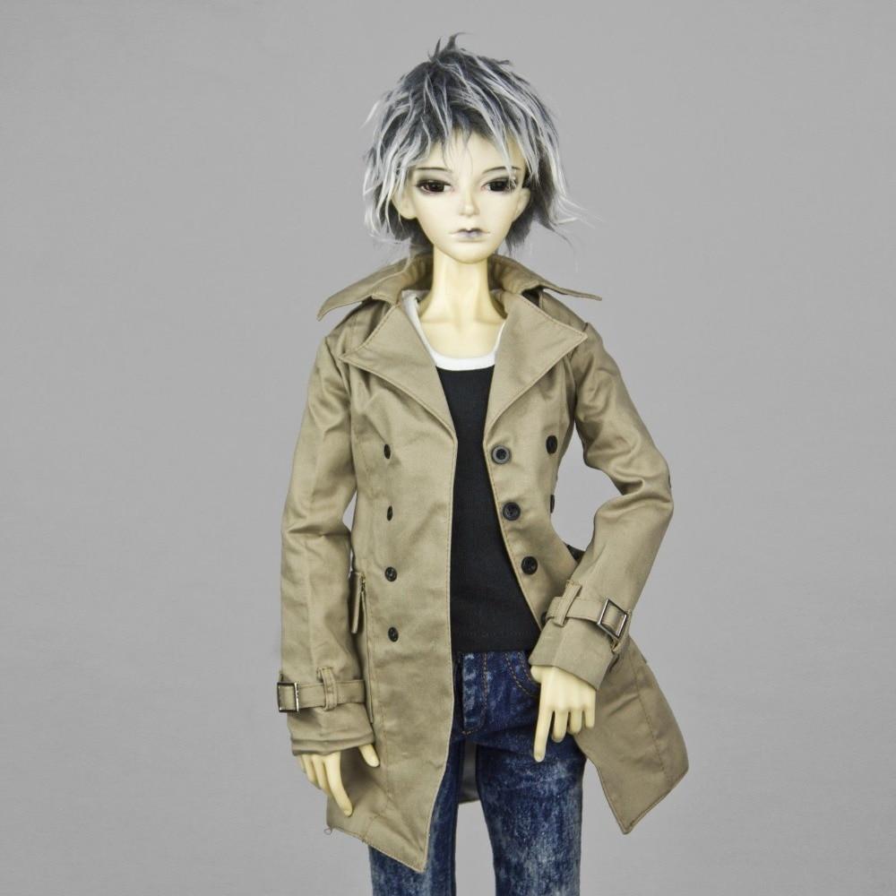 [wamami] 500# Wind Coat/Suit/Clothes 1/3 SD DZ AOD DOD Boy BJD Dollfi [wamami] black leather clothes suit for 1 3 sd aod dod dz bjd dollfie