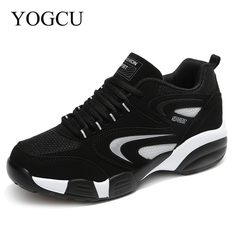 2017 New Mens Sneakers Red And White Weaving Breathable Running Boots Outdoor Comfortable Running Shoes For Men Sneakers YOGCU