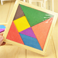 Materiales Montessori de madera Juguetes Educativos Para Niños Diy de Matemáticas Montessori Rompecabezas Niños Geometría De Colores de Bloques de Juguete