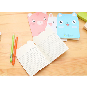 Image 2 - 20pcs/lot Cute Pig shape Small  Notebook Paper Book Diary Notebook Stationery student supplies