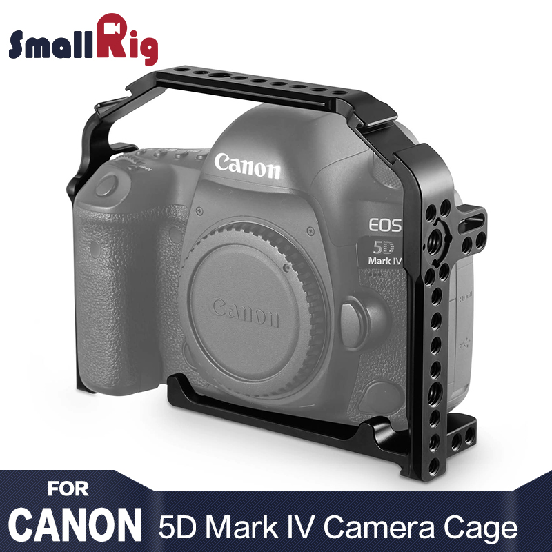 SmallRig Camera Cell for Canon 5D Mark IV cage With Nato Rail Bulit In Arca Quick Release plate 1900